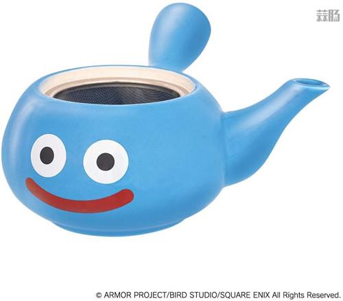 SE推出《勇者斗恶龙》史莱姆茶壶周边 造型可爱 模玩 第3张