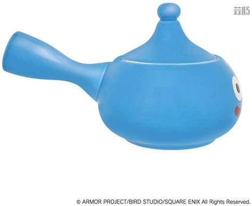 SE推出《勇者斗恶龙》史莱姆茶壶周边 造型可爱 模玩 第6张