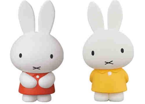 MEDICOM TOY推出米菲兔65周年纪念四件套手办