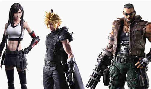 SE推出《最终幻想7重制版》克劳德与爱丽丝等四款可动手办