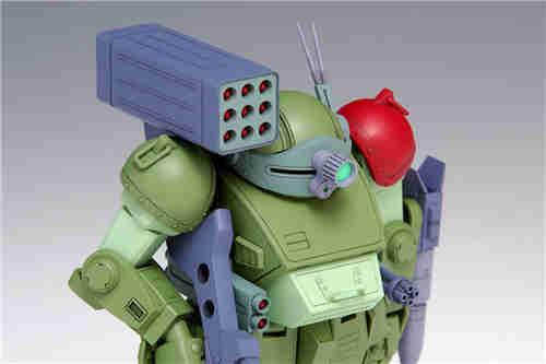 WAVE宣布推出《装甲骑兵》红肩队版眼镜犬1/35再版模型