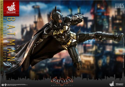 Hot Toys《蝙蝠侠:阿卡姆骑士》蝙蝠侠1:6人偶 蝙蝠侠:阿卡姆骑士 DC漫画 蝙蝠侠 HT HotToys 模玩  第5张