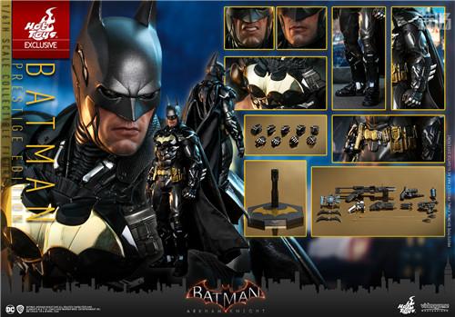 Hot Toys《蝙蝠侠:阿卡姆骑士》蝙蝠侠1:6人偶 蝙蝠侠:阿卡姆骑士 DC漫画 蝙蝠侠 HT HotToys 模玩  第6张