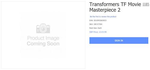 英国零售商暗示变形金刚MPM新玩具 售价1057元人民币 变形金刚 第1张