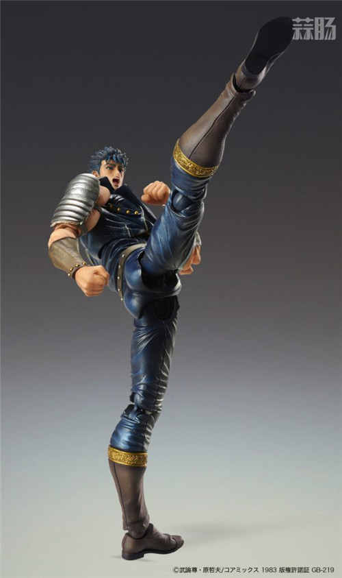 Medicos宣布超像可动《北斗神拳》健次郎将于4月30日预售 模玩 第3张