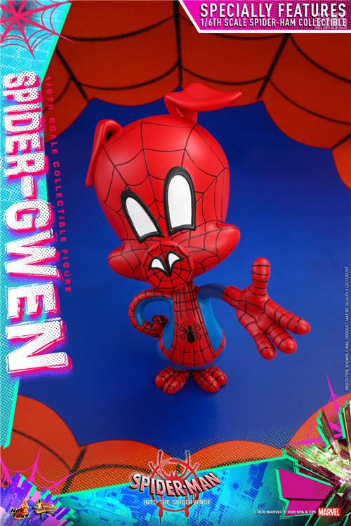 Hot Toys推出《蜘蛛侠:平行宇宙》蜘蛛格温 1:6 比例珍藏人偶 模玩 第5张