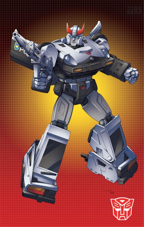 法亚透露变形金刚Earthrise地出第二波玩具包含D级铁皮与警车 变形金刚 第3张