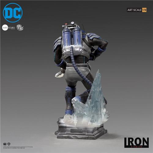 Iron Studios宣布推出Art Scale1/10《蝙蝠侠》急冻人雕像 模玩 第5张