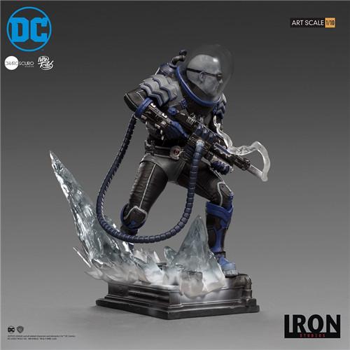 Iron Studios宣布推出Art Scale1/10《蝙蝠侠》急冻人雕像 模玩 第7张