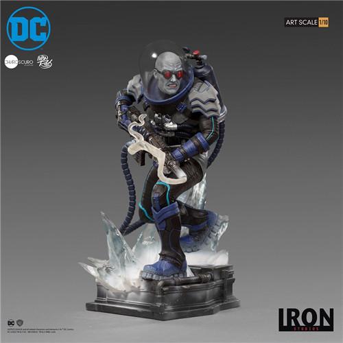 Iron Studios宣布推出Art Scale1/10《蝙蝠侠》急冻人雕像 模玩 第4张