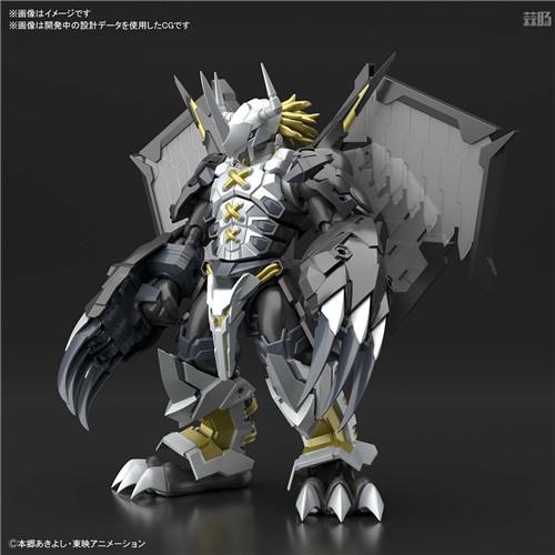 万代推出SFA《数码宝贝02》黑战斗暴龙兽可动模型 模玩 第2张