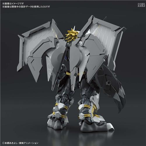 万代推出SFA《数码宝贝02》黑战斗暴龙兽可动模型 模玩 第4张