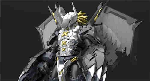 万代推出SFA《数码宝贝02》黑战斗暴龙兽可动模型