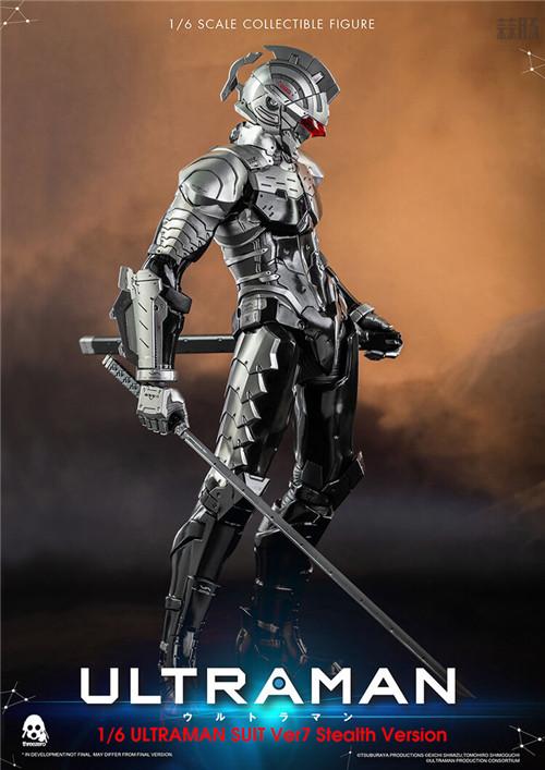 Threezero推出《机动奥特曼》奥特曼装甲ver.7潜行配色1/6限定版 模玩 第1张