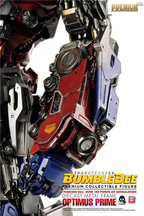 Threezero正式推出《大黄蜂》版擎天柱可动人形 2021年发售 变形金刚 第8张