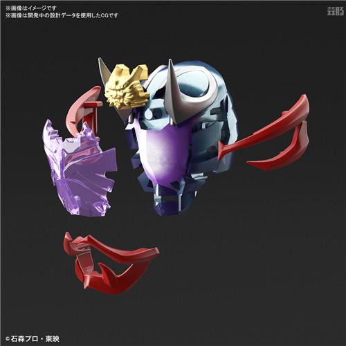 万代推出Figure-rise Standard假面骑士响鬼 模玩 第3张