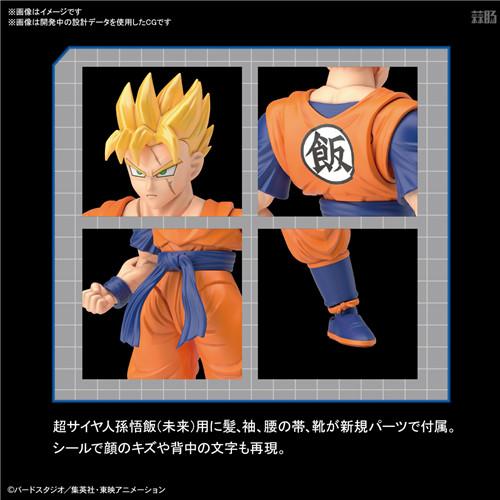 万代推出Figure-rise Standard《龙珠Z》潜力全开孙悟饭 模玩 第3张