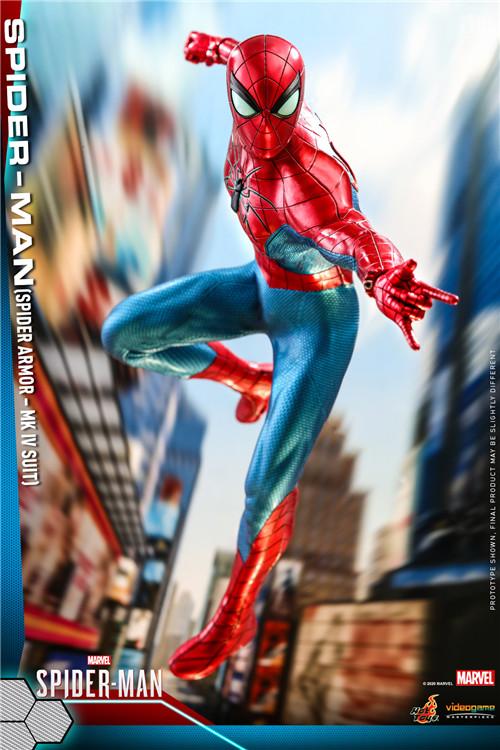 HotToys推出《漫威蜘蛛侠》蜘蛛侠MK4战衣1:6比例人偶 模玩 第1张