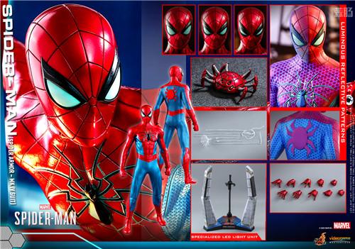 HotToys推出《漫威蜘蛛侠》蜘蛛侠MK4战衣1:6比例人偶 模玩 第7张