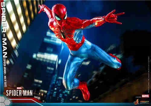 HotToys推出《漫威蜘蛛侠》蜘蛛侠MK4战衣1:6比例人偶