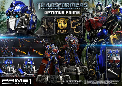 Prime 1 Studio推出MMTFM 28 ROTF擎天柱可动雕像 雕像 擎天柱 MMTFM 28 变形金刚 Prime 1 Studio 变形金刚  第1张