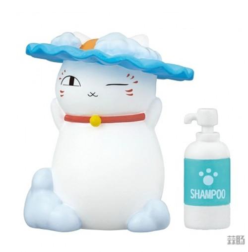 Takara Tomy推出《夏目友人帐》猫咪老师洗澡扭蛋 可爱爆表 模玩 第2张