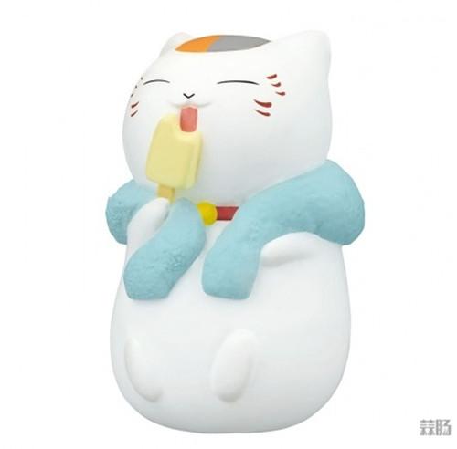 Takara Tomy推出《夏目友人帐》猫咪老师洗澡扭蛋 可爱爆表 模玩 第6张