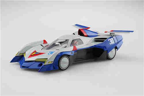 青岛社推出《高智能方程式赛车》1/24阿斯拉达GSX气流模式