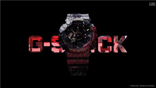 卡西欧G Shock联动《海贼王》推出路飞主题GA 110腕表 GA 110 路飞 海贼王 G Shock 卡西欧 动漫  第1张