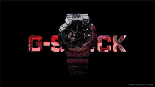 卡西欧G-Shock联动《海贼王》推出路飞主题GA-110腕表