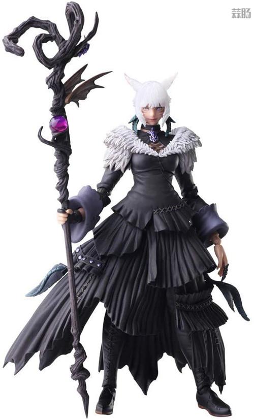 SE推出《最终幻想14》BA雅·修特拉魔女版可动手办 模玩 第1张