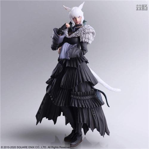SE推出《最终幻想14》BA雅·修特拉魔女版可动手办 模玩 第4张