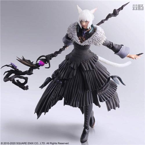 SE推出《最终幻想14》BA雅·修特拉魔女版可动手办 模玩 第5张