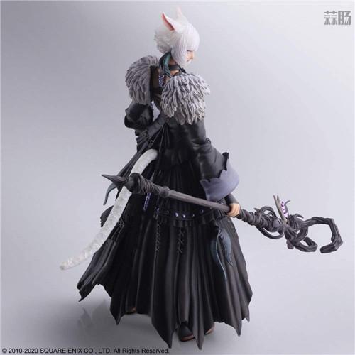 SE推出《最终幻想14》BA雅·修特拉魔女版可动手办 模玩 第7张