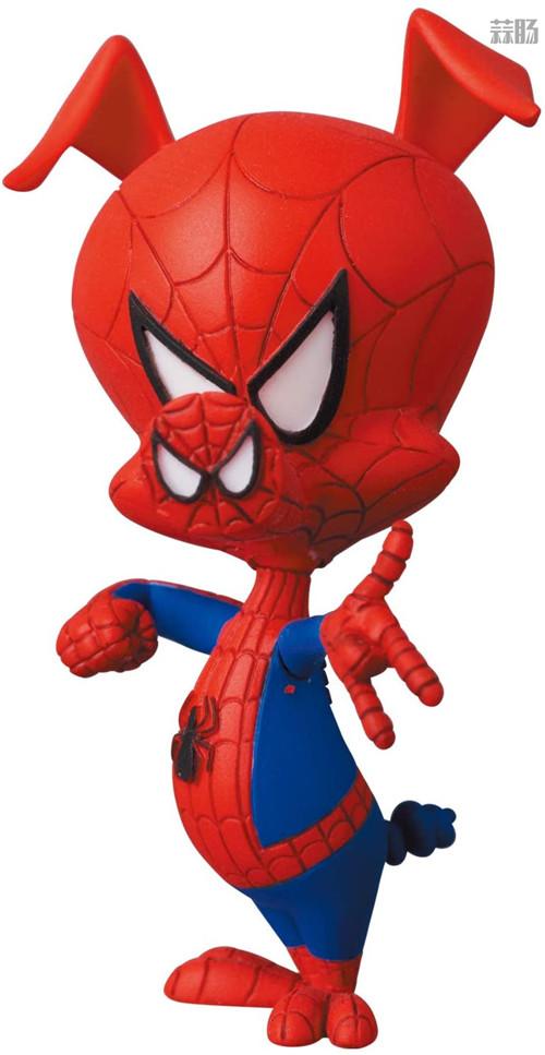 Medicom推出MAFEX《蜘蛛侠:平行宇宙》女蜘蛛侠格温与蜘猪侠彼得 模玩 第10张