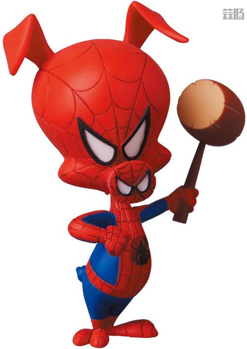 Medicom推出MAFEX《蜘蛛侠:平行宇宙》女蜘蛛侠格温与蜘猪侠彼得 模玩 第9张