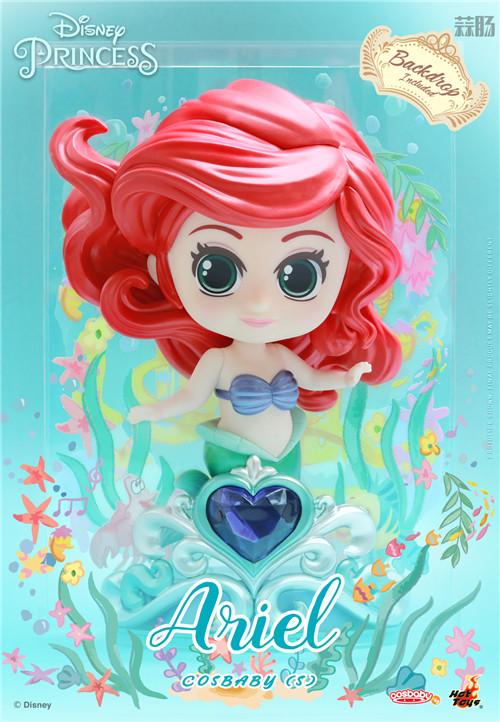 Hot Toys推出《迪士尼公主》COSBABY迷你珍藏人偶 模玩 第3张