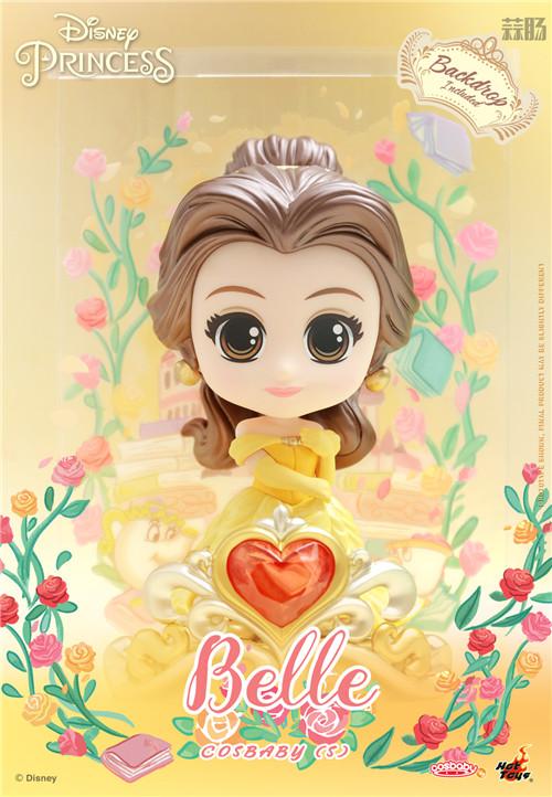 Hot Toys推出《迪士尼公主》COSBABY迷你珍藏人偶 模玩 第4张