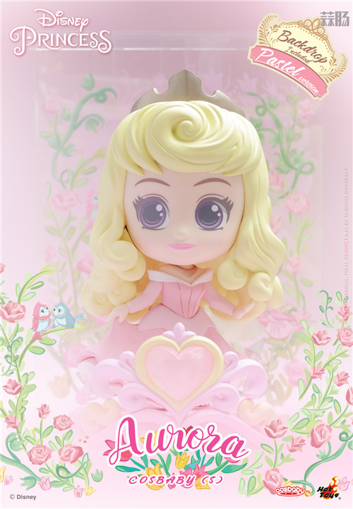 Hot Toys推出《迪士尼公主》COSBABY迷你珍藏人偶 模玩 第9张