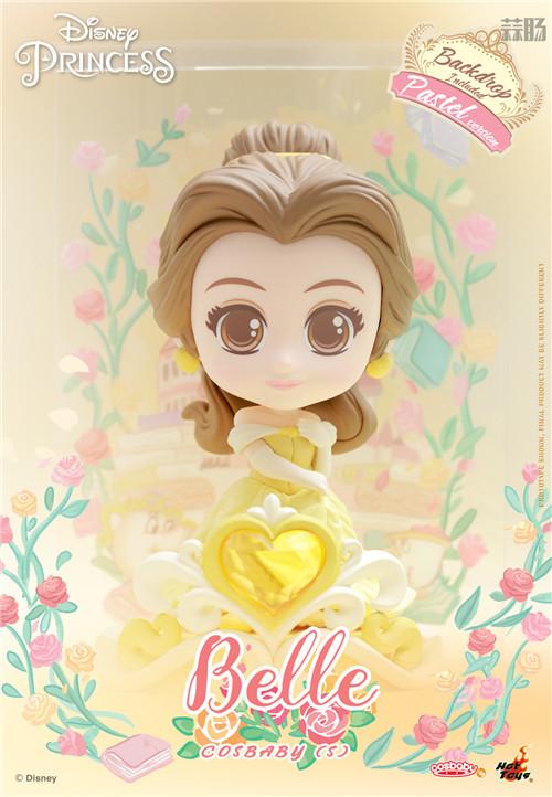Hot Toys推出《迪士尼公主》COSBABY迷你珍藏人偶 模玩 第10张