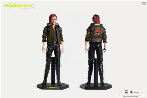 豆鱼雷推出《赛博朋克2077》男女主角V1/6可动手办附带酷炫摩托 模玩 第2张