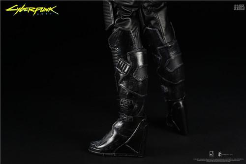 豆鱼雷推出《赛博朋克2077》男女主角V1/6可动手办附带酷炫摩托 模玩 第6张