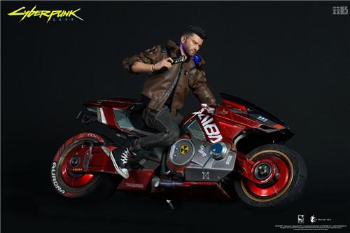 豆鱼雷推出《赛博朋克2077》男女主角V1/6可动手办附带酷炫摩托 模玩 第8张