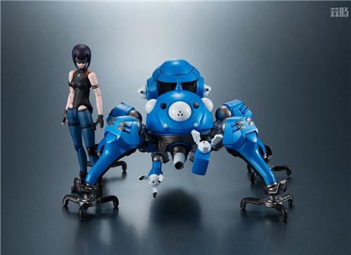MegaHouse推出《攻壳机动队SAC_2045》塔奇马克&草薙素子可动手办 模玩 第4张