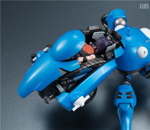 MegaHouse推出《攻壳机动队SAC_2045》塔奇马克&草薙素子可动手办 模玩 第8张