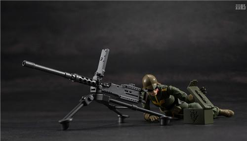 MegaHouse推出GMG《机动战士高达》吉恩公国普通士兵可动人偶 模玩 第8张