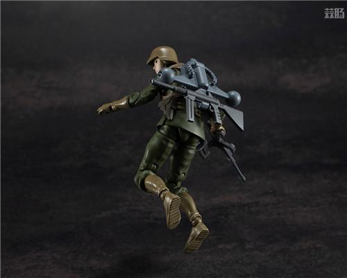 MegaHouse推出GMG《机动战士高达》吉恩公国普通士兵可动人偶 模玩 第5张