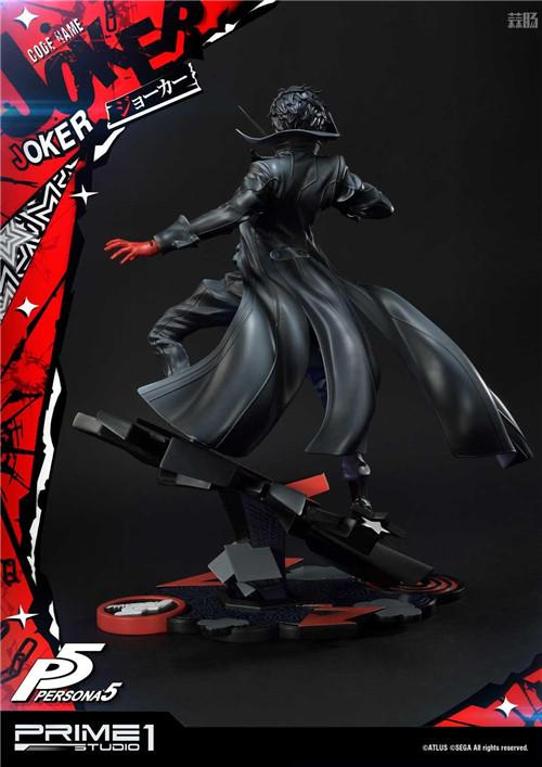 P1S推出Premium Masterline《女神异闻录5》Joker 1/4雕像 Joker 女神异闻录5 P1S 模玩  第9张