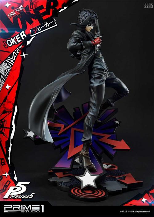 P1S推出Premium Masterline《女神异闻录5》Joker 1/4雕像 Joker 女神异闻录5 P1S 模玩  第10张