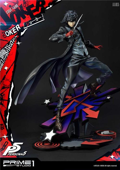 P1S推出Premium Masterline《女神异闻录5》Joker 1/4雕像 Joker 女神异闻录5 P1S 模玩  第7张